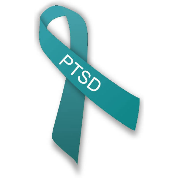 PTSD ribbon