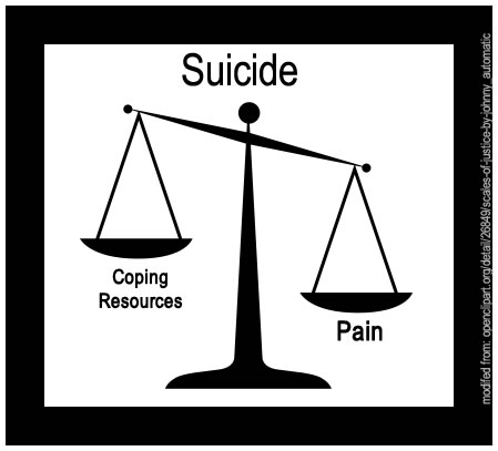 suicide - pain versus coping